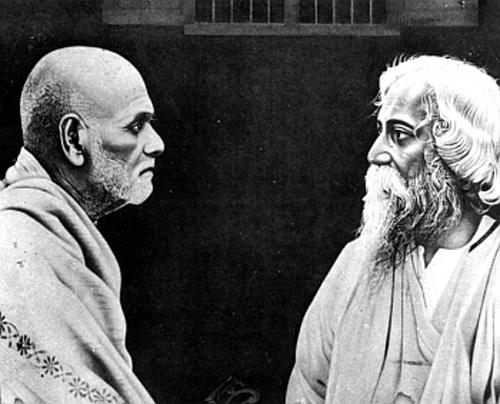 Sree Narayana Guru With Rabindranath Tagore