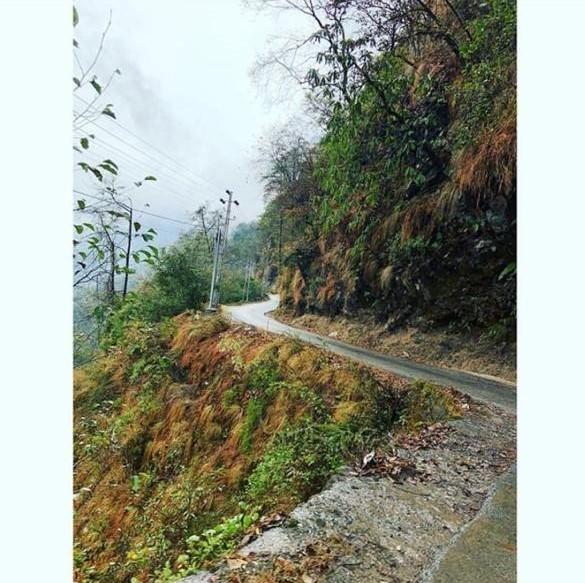 View of nathu la