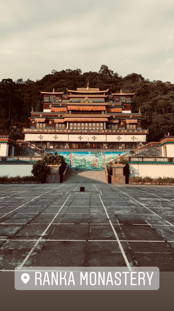 Ranka Monastery in Sikkim
