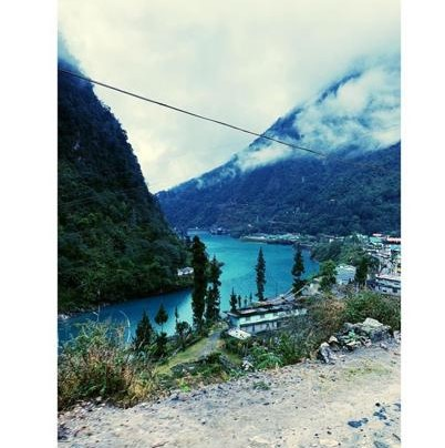 bakthang waterfall in best places to visit in gangtok