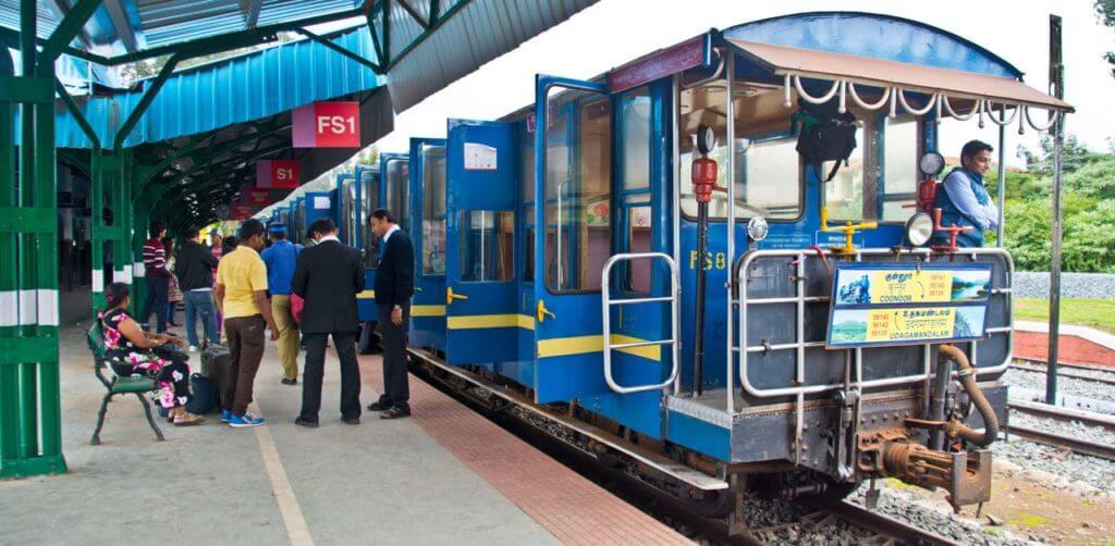 heritage train in ooty
