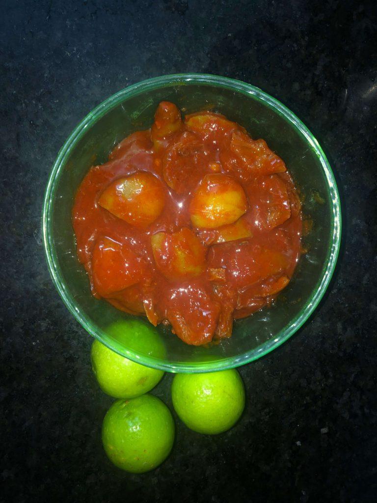 Nimmakayi Pachadi - Indian Pickle Recipe