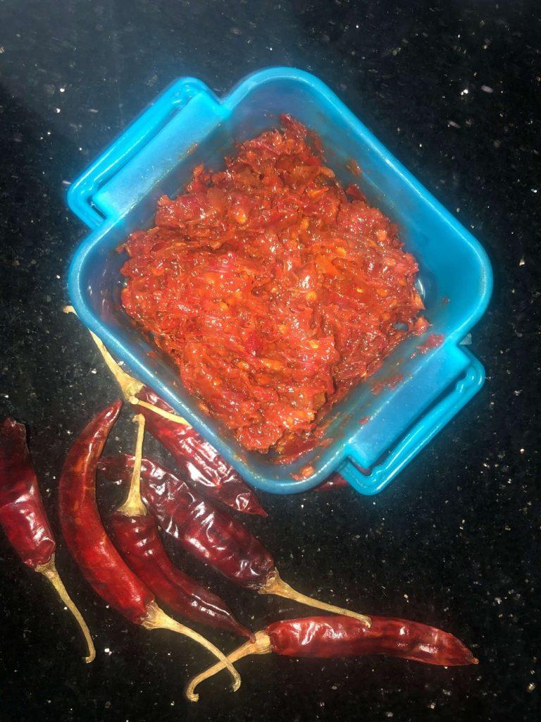 Pandumirchi Pickle/ Pachadi