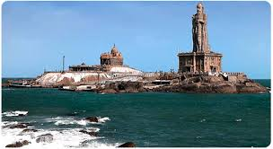 A beautiful view of Vivekananda Rock Memorial