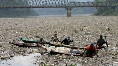 We are Responsible for the River pollution, stop it!