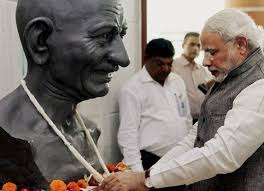 A real tribute to Mahatma