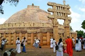 The Famous Sanchi Stupa