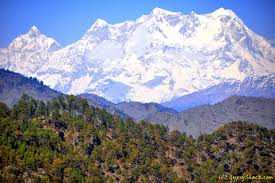 A view of Himalayas
