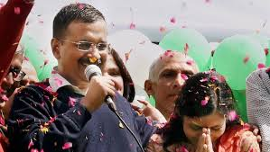 Kejriwal to adorn the CM chair