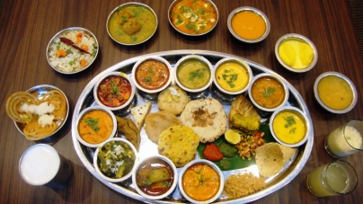 Assamese thali archives the real india wildlife in india for Assamese cuisine in bangalore