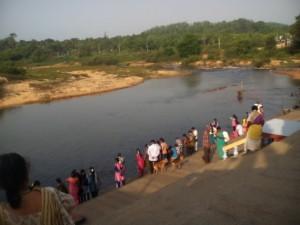 Sringeri - Thunga River