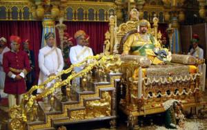 Srikantadatta Wodeya during Durbar