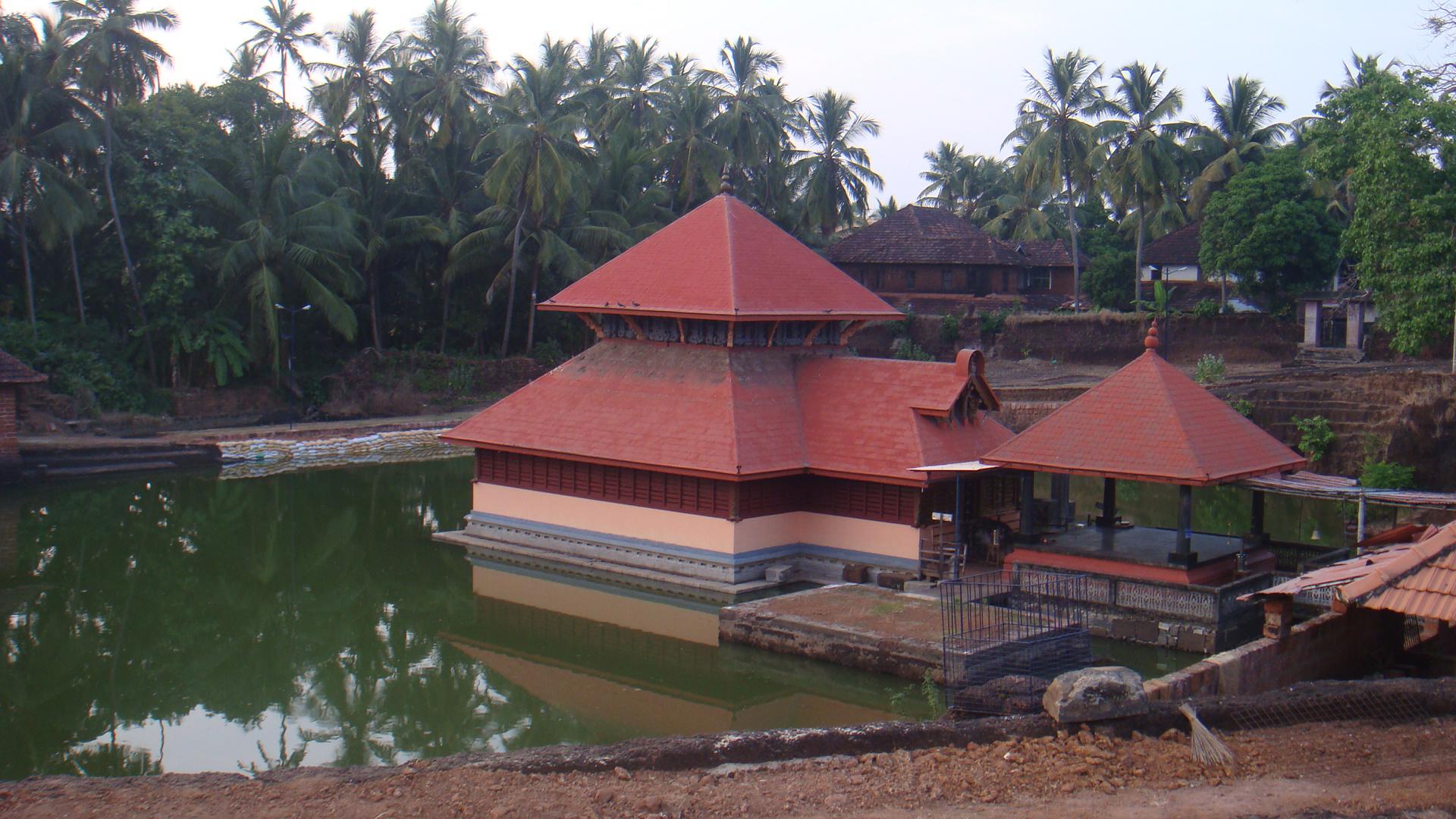 Ananthapur Lake Temple