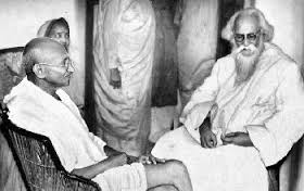 Gandhiji and Tagore