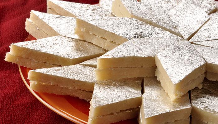Kaju Katli Indian sweet