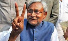 Nitish Kumar ascends Bihar throne