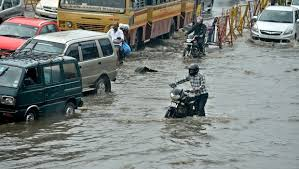 Heavy rains lashing South Indian have thrown life out of gear