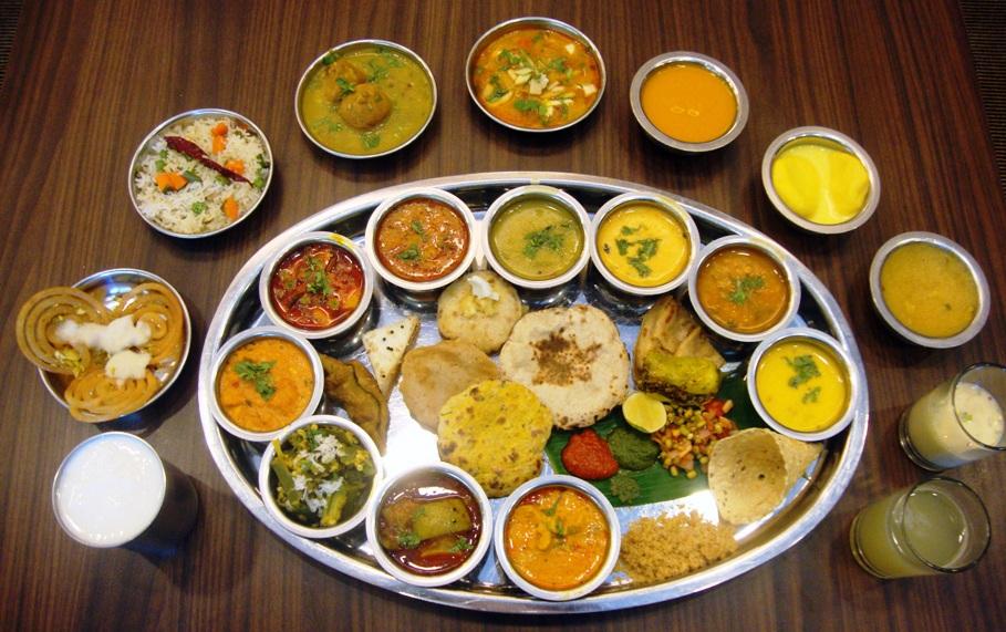 Yummy Rajasthan Thali - Must taste