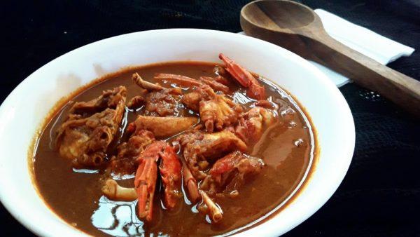 Njandu Roast (Crab roast)