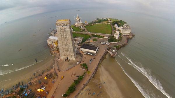 Murudeshwar Aerial View