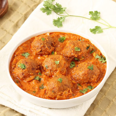 mutton ball curry
