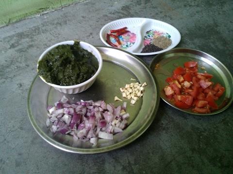 bathua bhurji 1