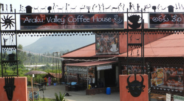 Coffee House in araku valley