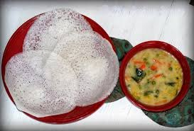 Appam with Stew