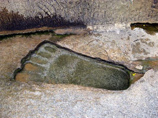 The Footprint of Sita Mata, Lepakshi Temple