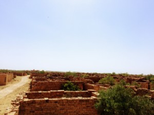 Remains of once glorious buildings Kuldhara